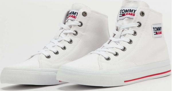 TOMMY JEANS Tommy Jeans Midcut Vulc white