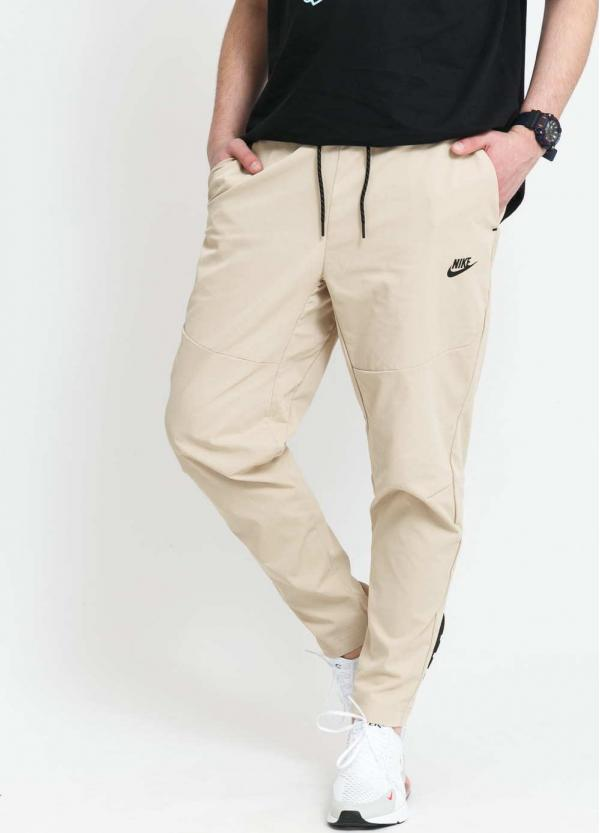 Nike M NSW Te Pant Woven béžové