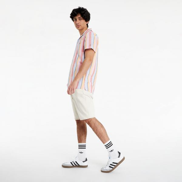 Tommy Jeans Striped Camp Shirt Dewy Iris / Multi