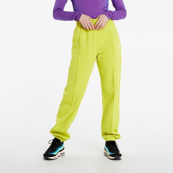Nike Sportswear W Essential Fleece Pants High Voltage/ White