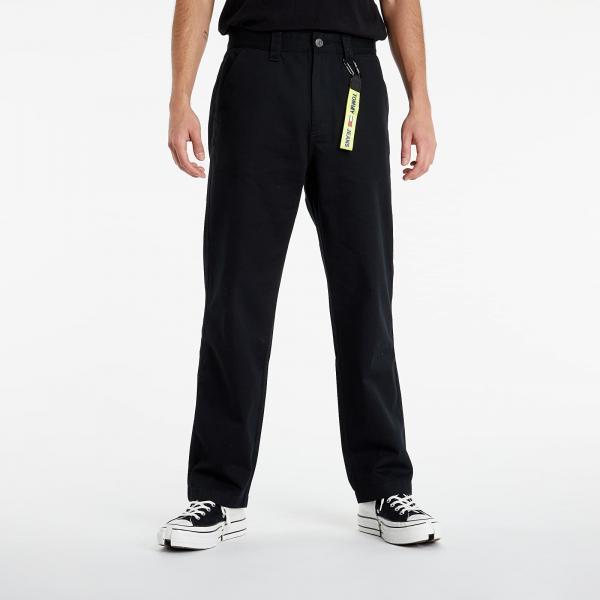 Tommy Jeans Skater Cotton Pants Black