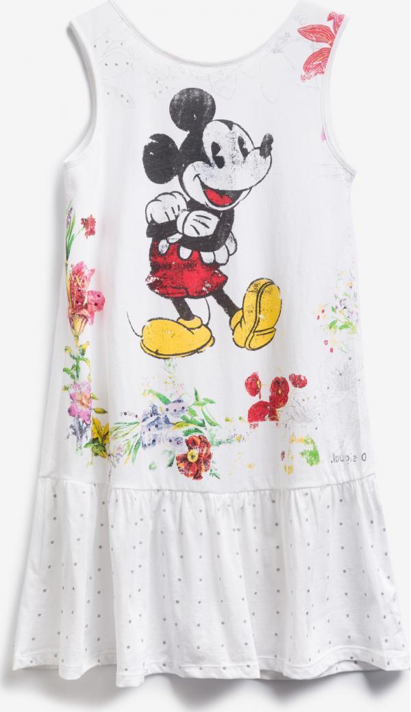 Mickey Mouse Šaty dětské Desigual