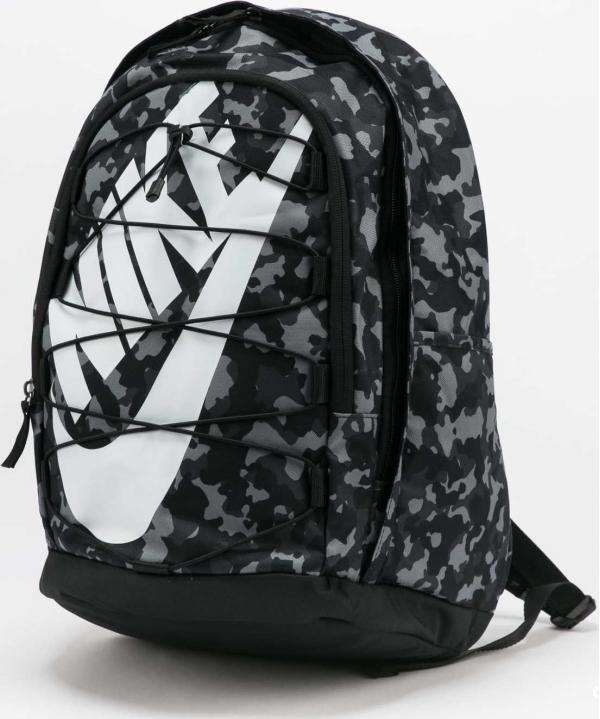 Nike NK Hayward Backpack - 2.0 AOP černý / camo šedý