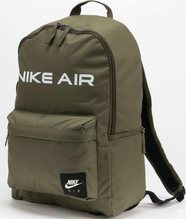 Nike NK Heritage Backpack - Nike Air olivový