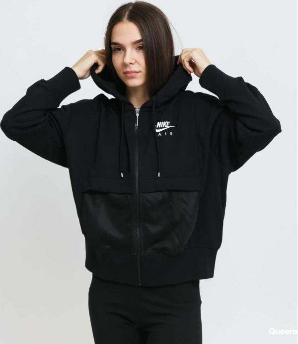 Nike W NSW Air FZ Top Fleece černá