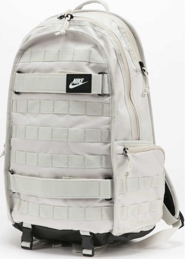 Nike NK RPM Backpack - NSW světle šedý / černý