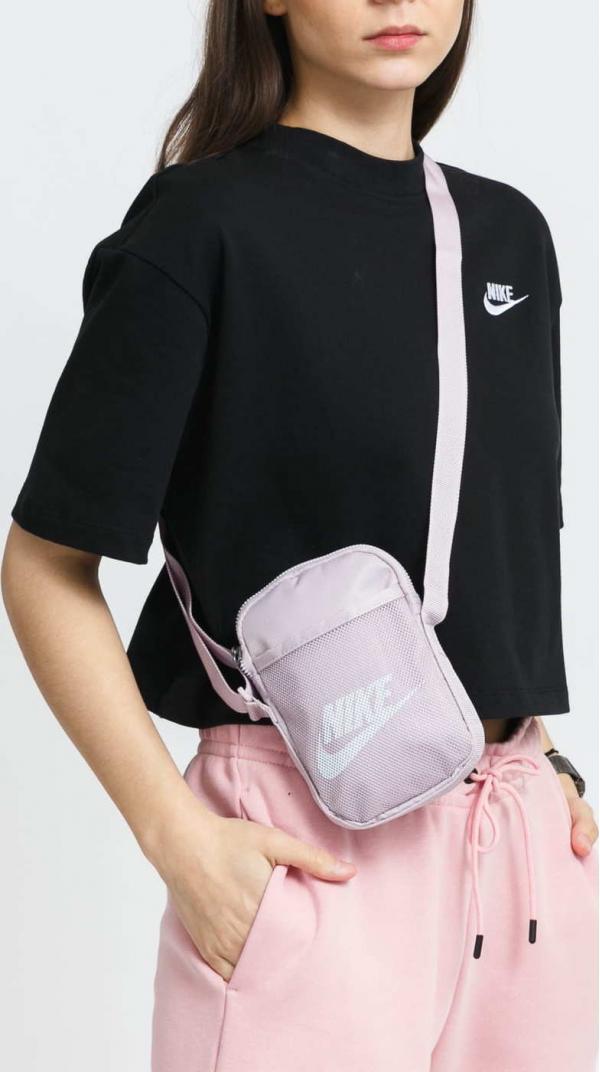 Nike NK Heritage S Crossbody fialová