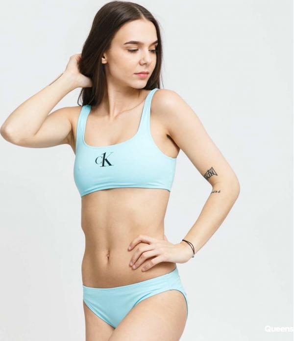 Calvin Klein CK ONE Bralette světle modré