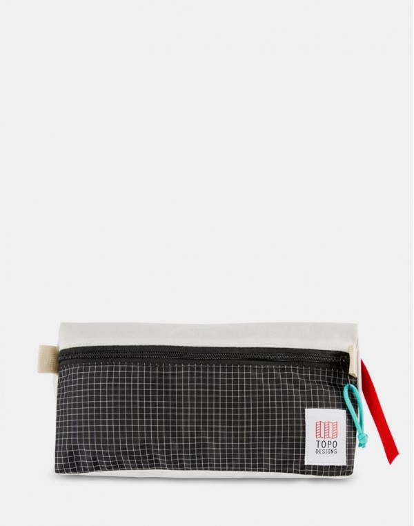 Topo Designs Dopp Kit Natural / Black ripstop