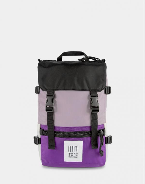 Topo Designs Rover Pack Mini Light Purple/Purple/Black