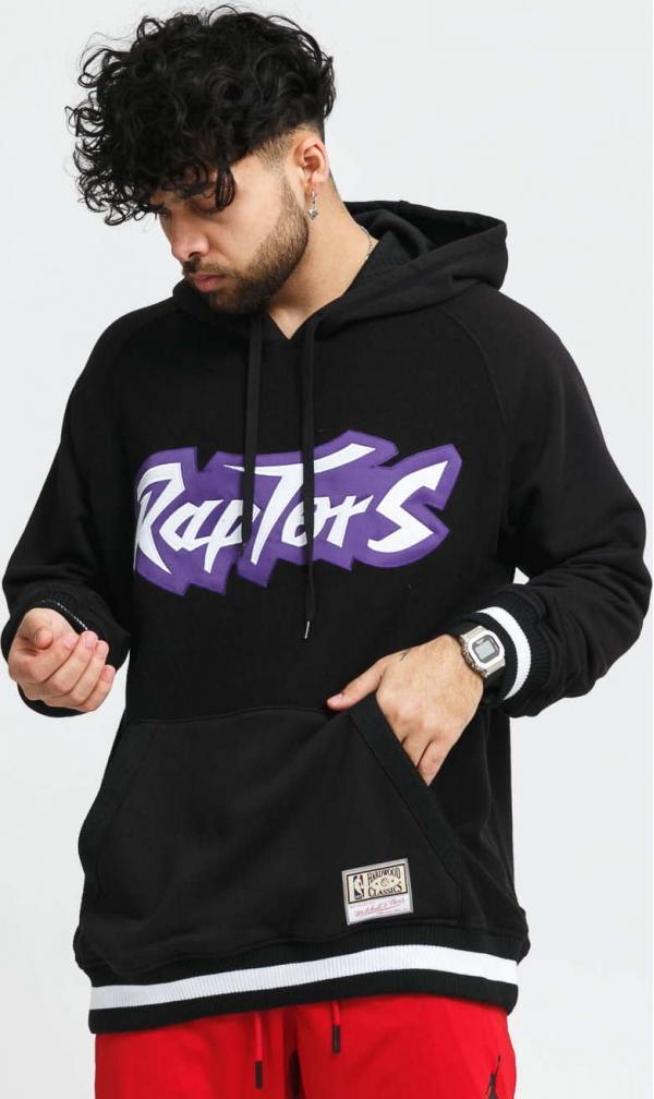 Mitchell & Ness NBA Gametime Pullover Raptors černá