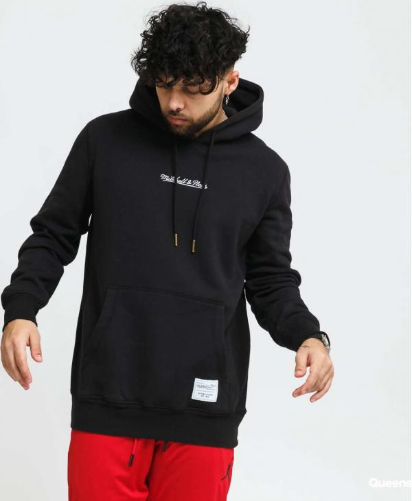 Mitchell & Ness Essential Hoodie černá
