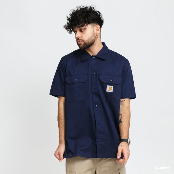Carhartt WIP Master Shirt navy
