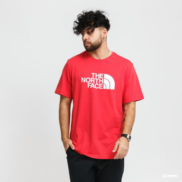 The North Face M SS Easy Tee červené