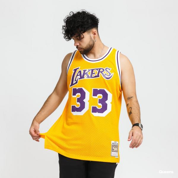 "Mitchell & Ness Swingman Jersey LA Lakers Kareem Abdul-Jabbar ""33"