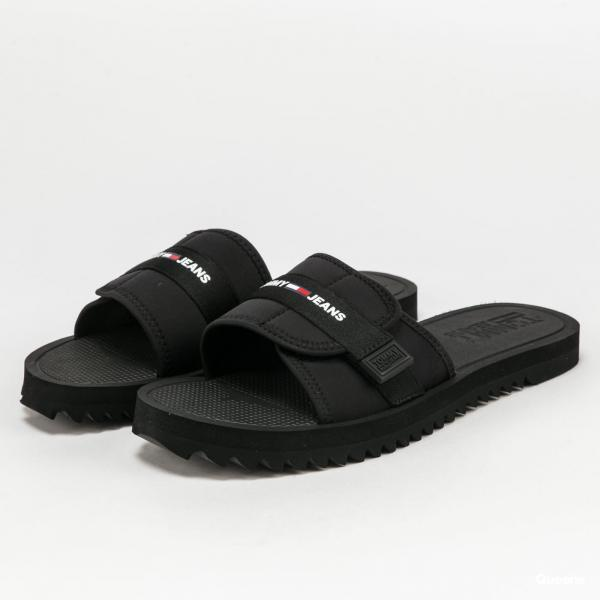 TOMMY JEANS Slip On Tech Sandal black