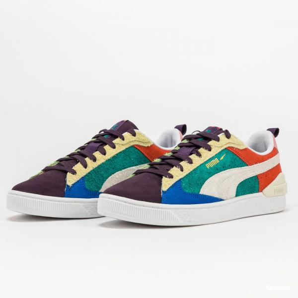 Puma Suede Bloc WTFormstripe sweet grape - whisper white