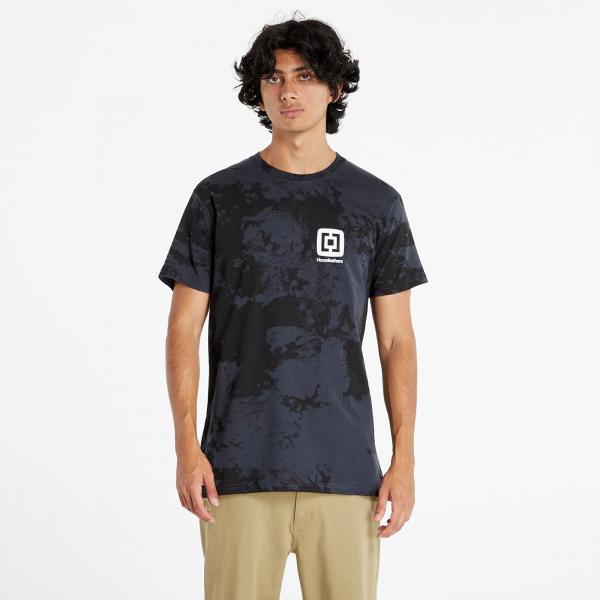 Horsefeathers Mini Logo T-Shirt Gray Tie Dye