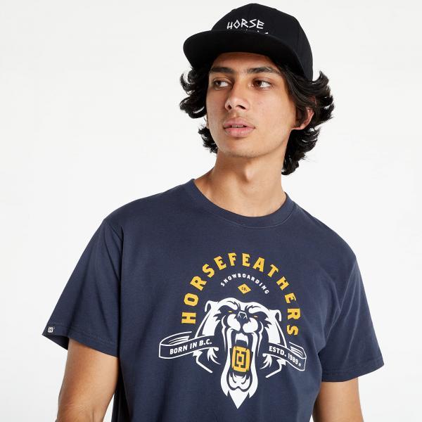 Horsefeathers Ursus T-Shirt Midnight Navy