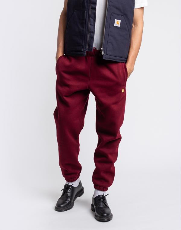 Carhartt WIP Chase Sweat Pant Jam / Gold L