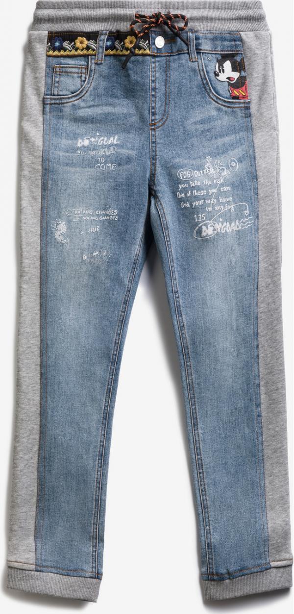 Mickey Mouse Bimaterial Jeans dětské Desigual
