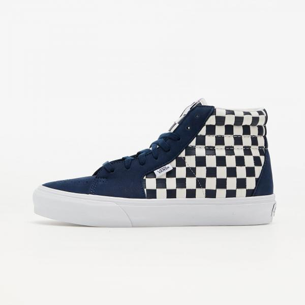 Vans Vault Style 38 LX (Leather Woven) Navy/ White