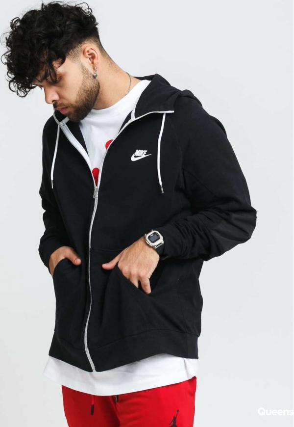 Nike M NSW Me FZ Lightweight Hoodie Mix černá