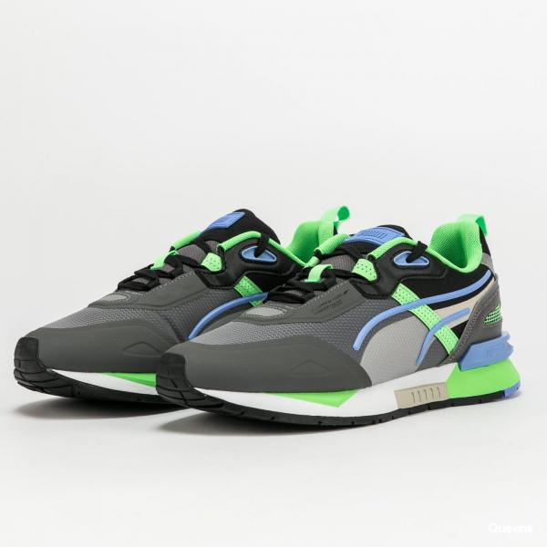 Puma Mirage Tech castlerock - elektro green