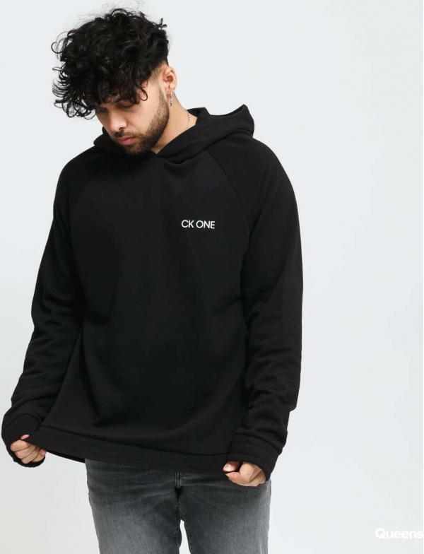 Calvin Klein CK ONE LS Hoodie černá