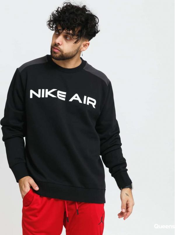 Nike M NSW Air Fleece Crew černá