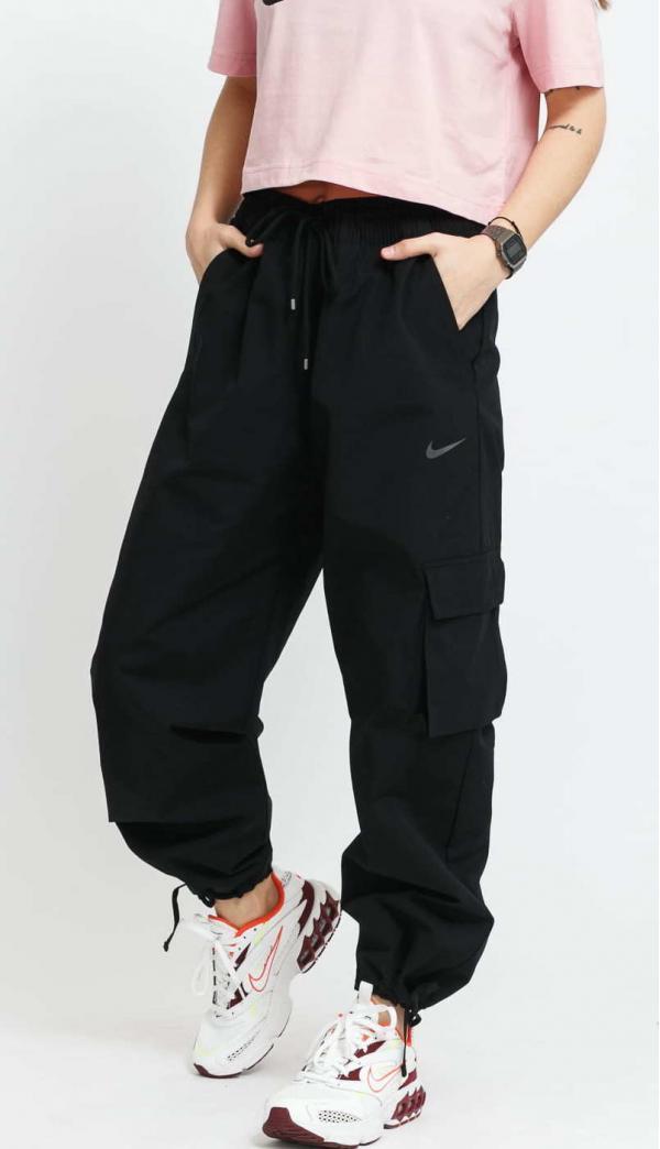 Nike W NSW Icon Clash Pant Canvas černé