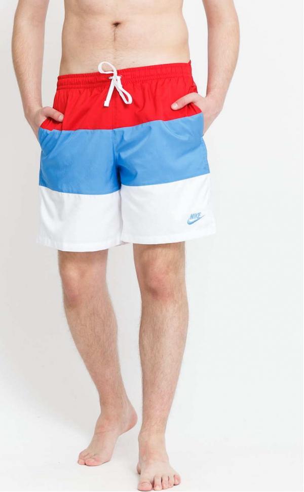 Nike M NSW SPE Woven LND Short bílé / červené / modré