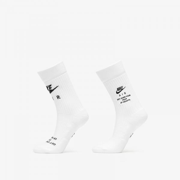 Nike Crew Socks White/ Black