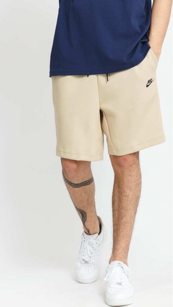 Nike M NSW Tech Fleece Short béžové