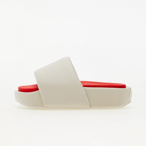 Y-3 Slide Clear Brown/ Off White/ Red