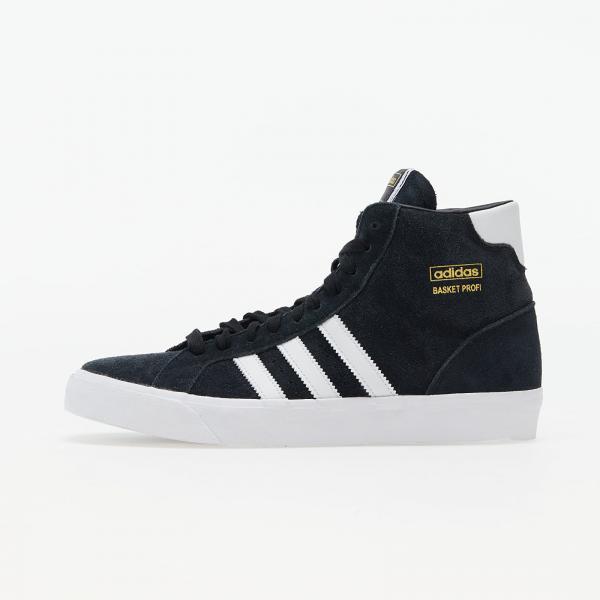 adidas Basket Profi Core Black/ Ftwr White/ Gold Met.