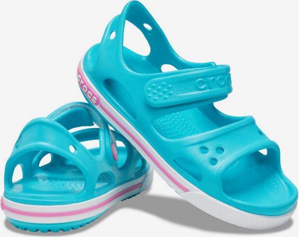 Crocband II Sandal PS Digital Aqua Sandále Crocs
