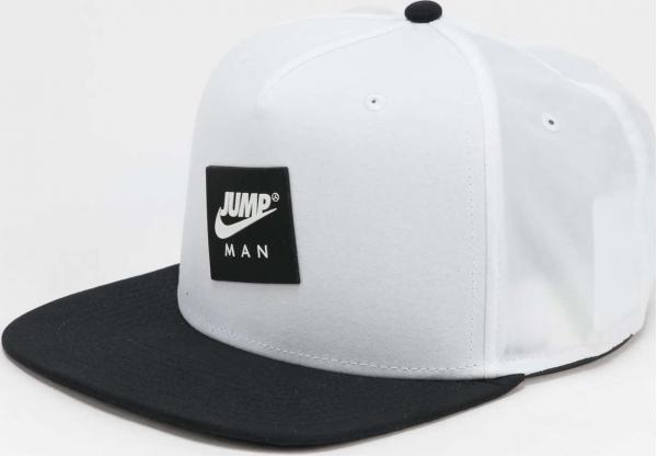 Jordan Pro JM Classics Cap bílá / černá