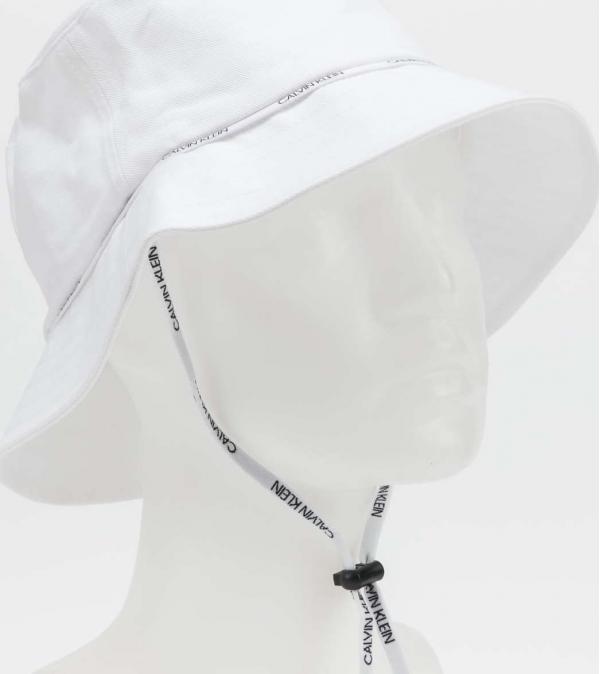 Calvin Klein Bucket Hat bílý