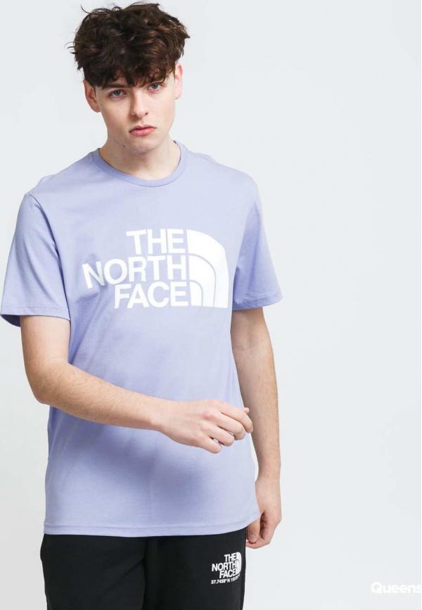 The North Face M Standard SS Tee fialové