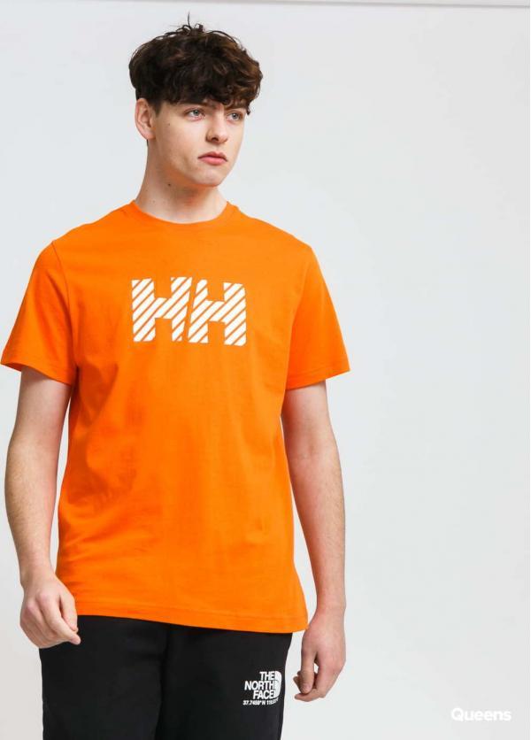 Helly Hansen Active T-Shirt oranžové