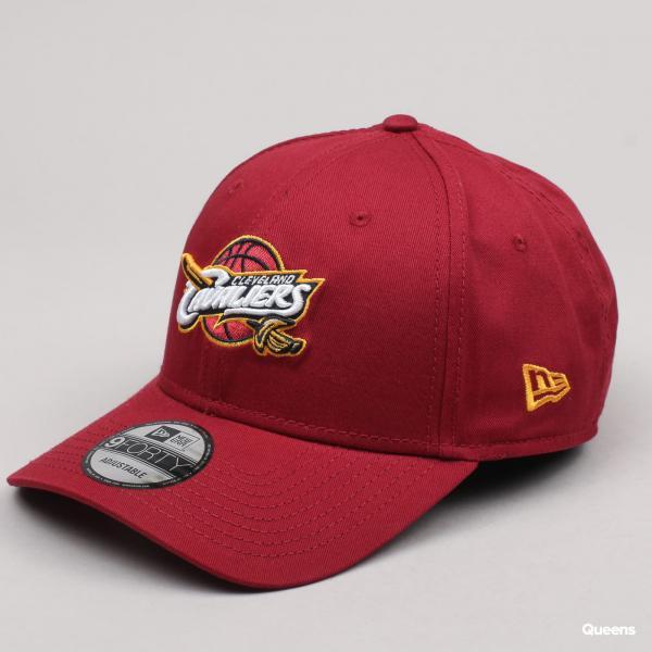 New Era 940 NBA Team Cleveland Cavaliers vínová