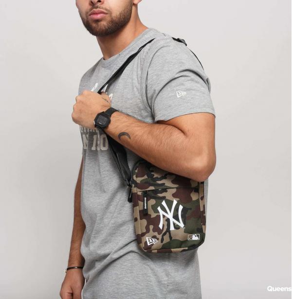 New Era MLB Side Bag NY camo zelená