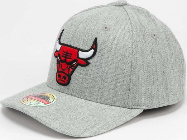 Mitchell & Ness Team Heather Redline Snapback Bulls melange šedá