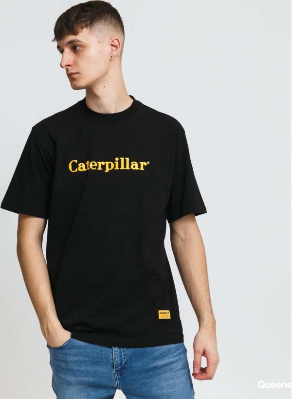 CATERPILLAR Classic Logo Tee černé