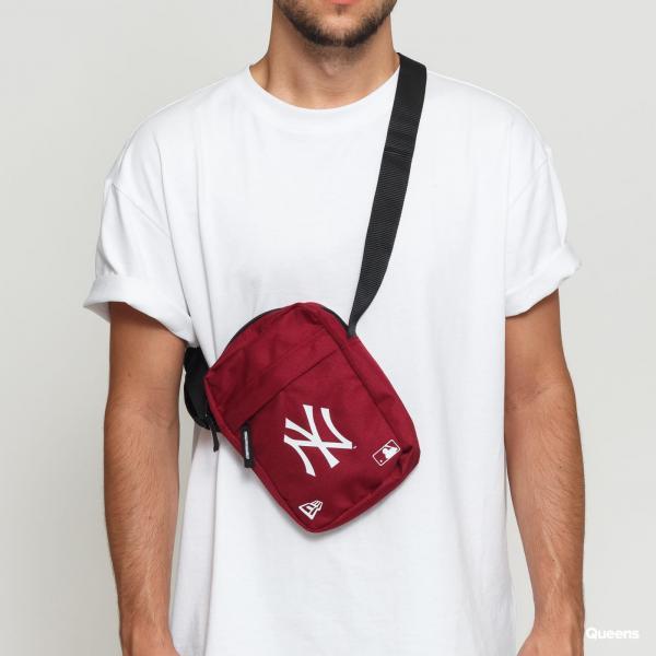 New Era MLB Side Bag NY vínová