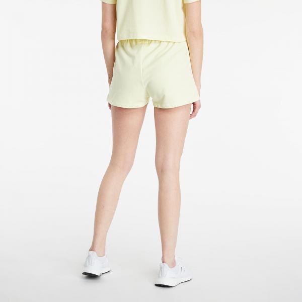 adidas Tennis 3 Stripes Shorts Haze Yellow