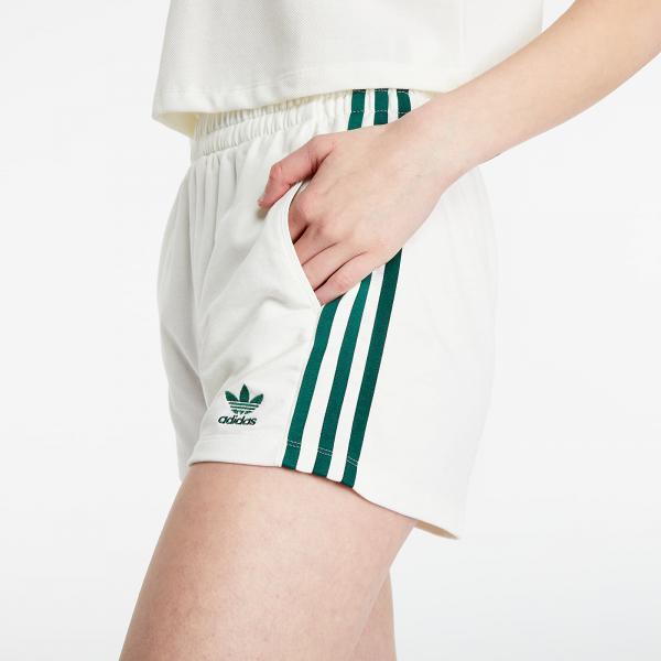 adidas Tennis 3 Stripes Shorts Off White