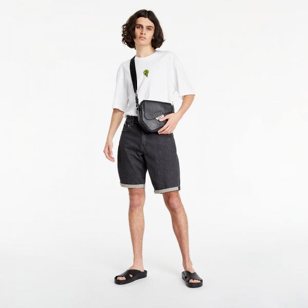 Calvin Klein Jeans Regular Shorts Denim Black