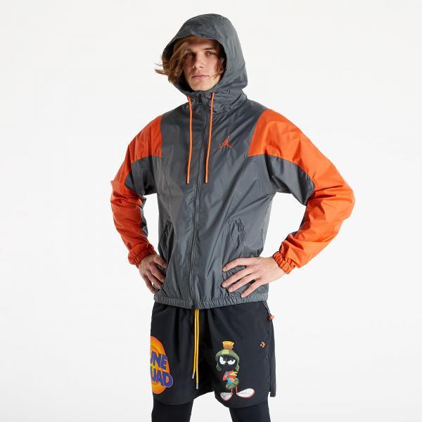 Jordan Essentials M Woven Jacket Iron Grey/ Orange